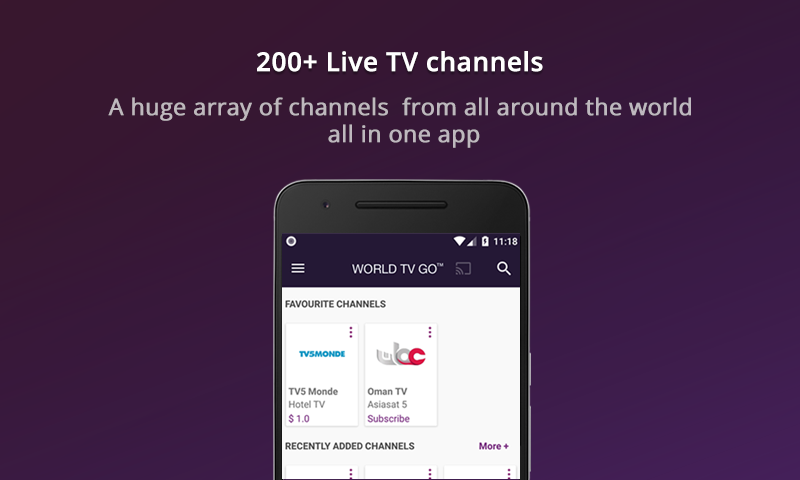 Amazon com: World TV Go: Appstore for Android