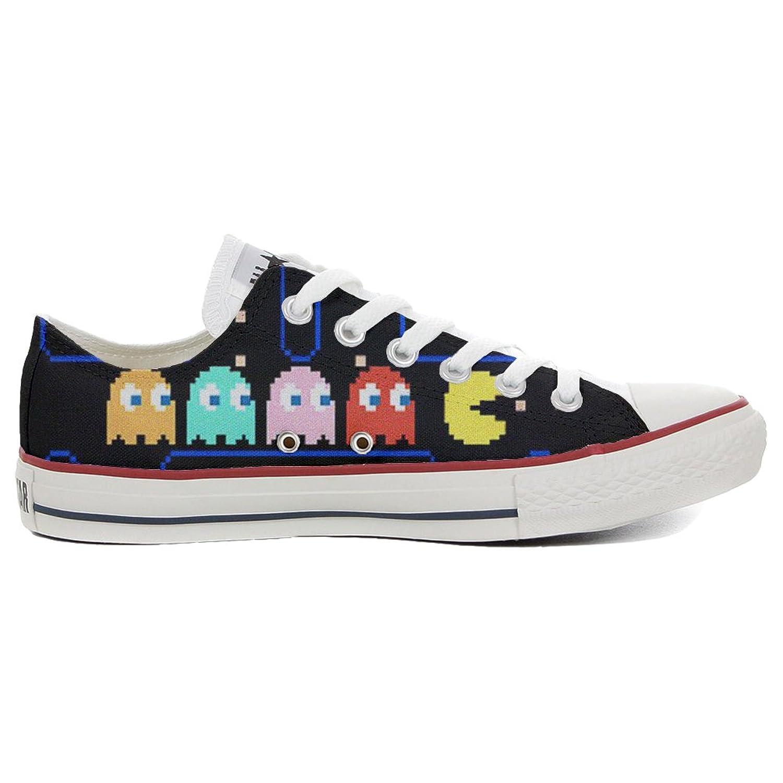 Converse All Star personalisierte Schuhe (Handwerk Produkt) Slim Pacman