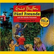 Fünf Freunde und die falsche Prinzessin (Fünf Freunde 58) Hörbuch von Enid Blyton Gesprochen von: Oliver Petszokat