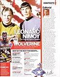 Hugh Jackman (X-Men Origins: Wolverine), Leonard Nimoy (Star Trek), Joss Whedon - SciFi Now [U.K.] Magazine Issue #26