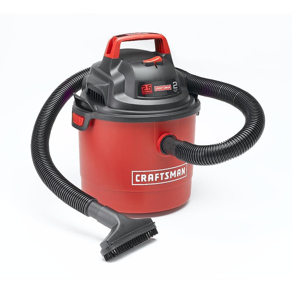Craftsman 2.5 Gallon 2 Peak HP Wet/Dry vac (Wall Mount)