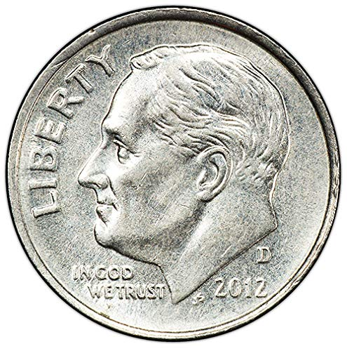 2012 D BU Roosevelt Dime Choice Uncirculated US Mint