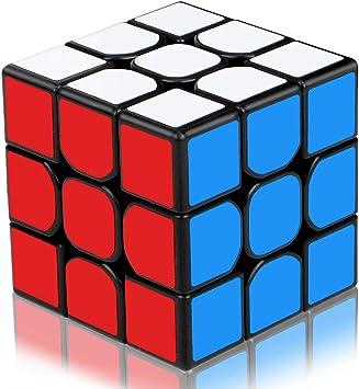 Aiduy Cubo de Rompecabezas 3D de 3 x 3 velocidades, Cubo mágico edición Mejorada Suave, Nuevo Cubo de Velocidad de Estructura antipop, Colorido: Amazon.es: Juguetes y juegos
