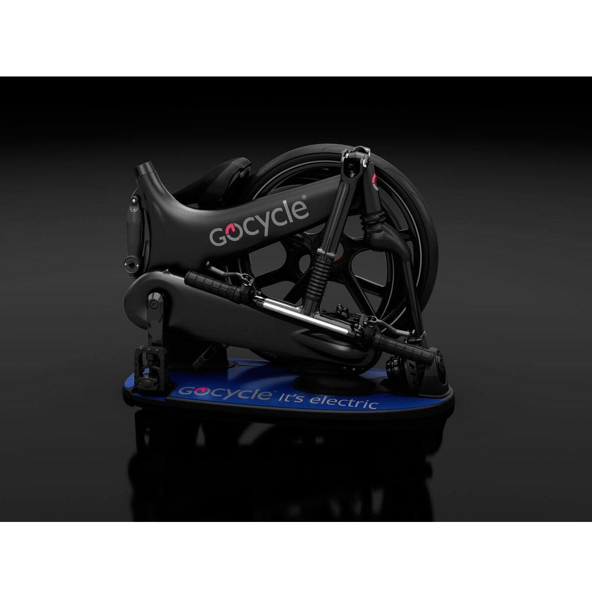 Bicicleta eléctrica plegable de diseño, GoCycle G3 negra con base pack + Vuelo de regalo a Europa para 2 personas: Amazon.es: Deportes y aire libre