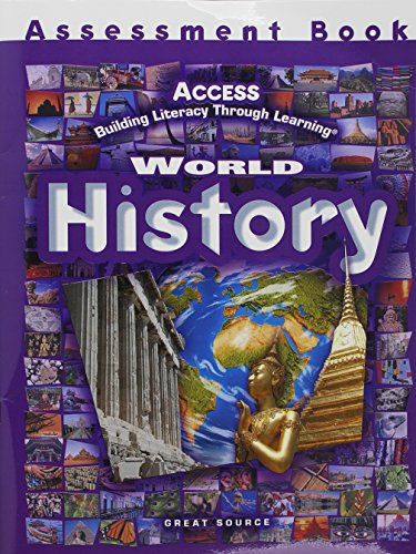 ACCESS World History: Assessment Book Grades 5-12 by GREAT SOURCE