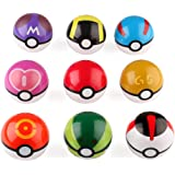 VERY100 9pcs Pokeballs Pokemons Cadeaux Jouets Ultra GS Cosplay Pop-up Monstre