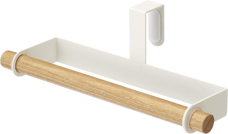 YAMAZAKI home 7818 Tosca Kitchen Towel Hanger, White