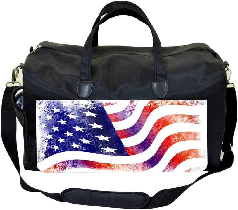 Jacks Outlet Grunge American Flag Sports Bag