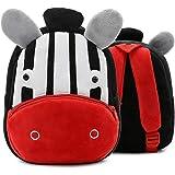 Zebra Backpack for Toddler Boys, Toddler Bookbag Girl Dinosaur Toys Bags(Zebra)