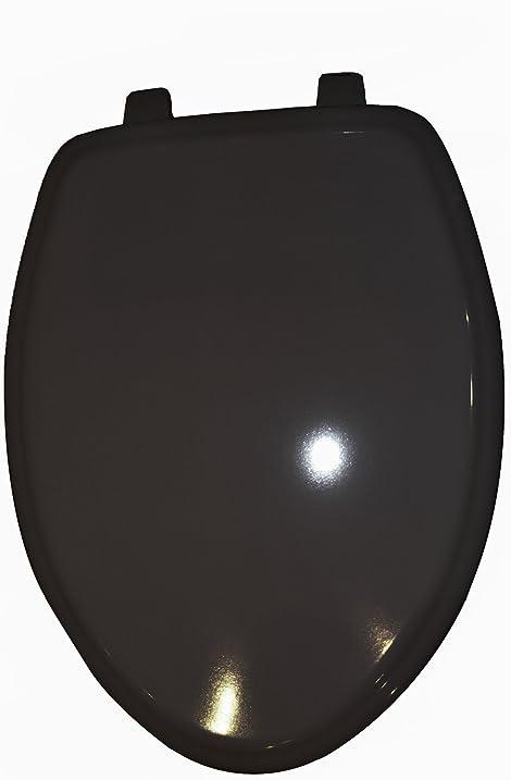 black square toilet seat. American Standard 5725 027 178 Town Square Elongated Molded Wood Toilet Seat  Black