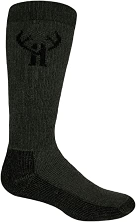 Huntworth/' Huntsman Merino Wool Boot Sock 2 pack 12-16