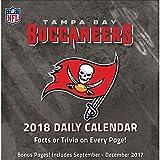 2018 Tampa Bay Buccaneers Desk Calendar