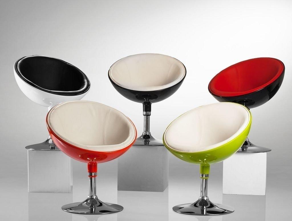 Armchair Black Club Chair Tub Chair Retro Design Lounge Chair Faux Leather Plastic Dining Chair Duhome 0615