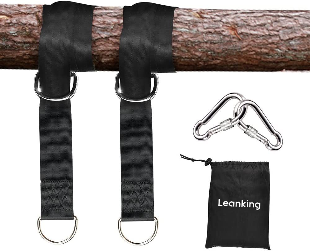 Plank 2 PCS Tree Swing Hanging Kit 5ft Swing Straps Holds 2200 lbs with 2 Safer Lock Snaps Perfect for Swing Seat AIVOOF Tree Swing Straps Hammock