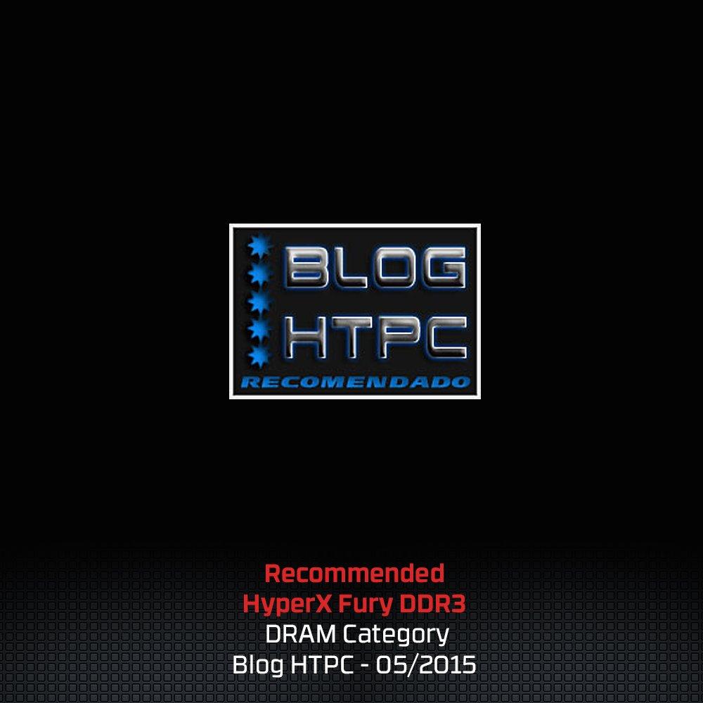 azul Memoria RAM Kingston HyperX Fury DDR3, 1866 MHz, 8 GB, CL10, 2 x 4 GB
