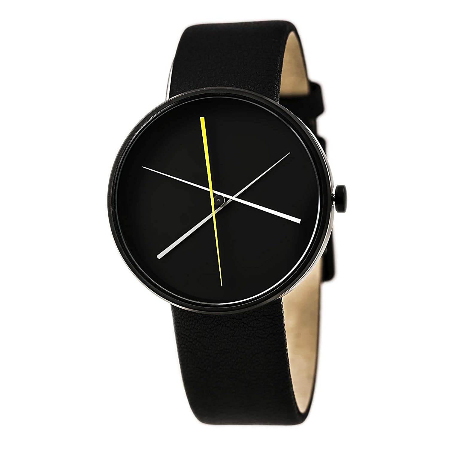 Projects Watch - Crossover - Black Leather