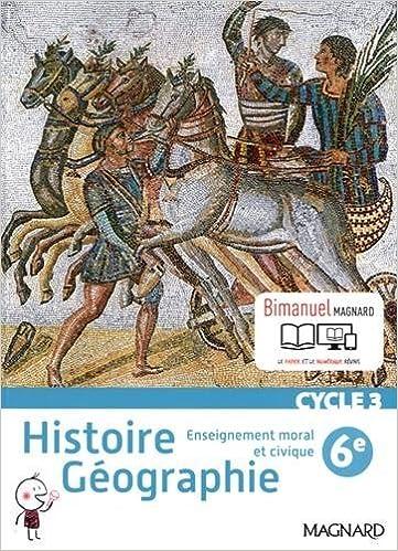 Amazon Fr Histoire Geographie Enseignement Morale Et Civique 6e