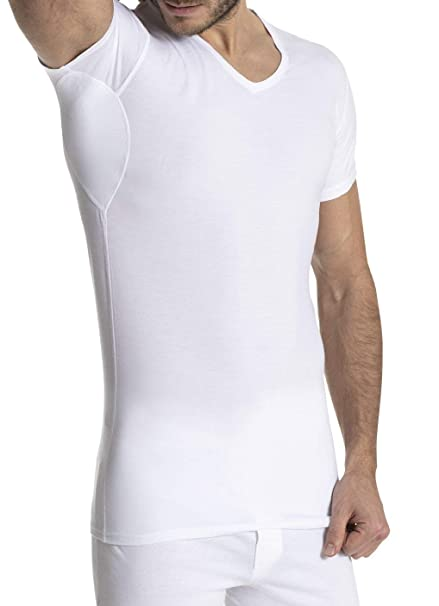 FINN Design - Camiseta Interior - para Hombre Weiß Small