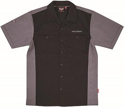 Victoria motocicleta nueva OEM Hombres de negro Logo FC camisa de bolos, tamaño mediano, 286797503: Amazon.es: Coche y moto