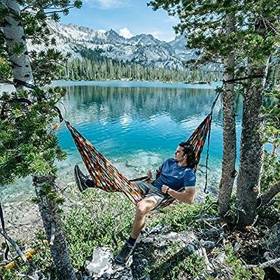 Coalatree Grandview Packable Hammock - Best Lightweight Nylon Parachute Camping Hammock Gear for Backpacking Survival Beach Yard or Travel: Sports & Outdoors