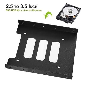 gugu Togo 2,5 A 3,5 Pulgadas SSD HDD Metal Adaptador Soporte Disco ...