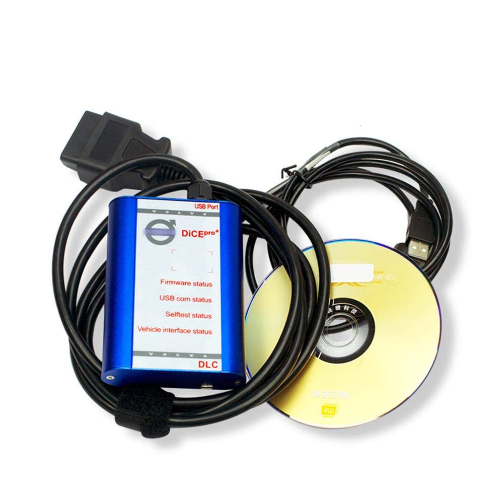 332PageAnn Kfz Diagnoseger/ät Diagnose Scanner Full Chip F/ür Volvo VIDA DICE PRO 2014D Fimware Update /& Selbsttest F/ür Volvo Scanner