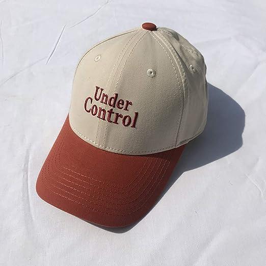 sdssup Sombrero Mujer Verano Moda Letras Gorra de béisbol Bordada ...