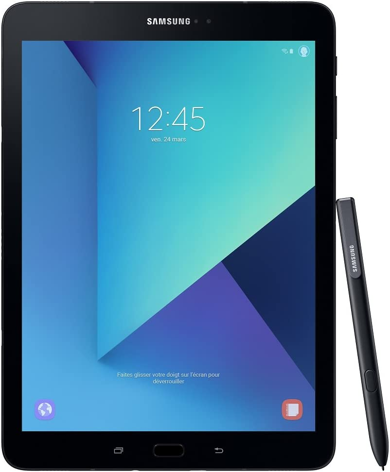 "Samsung Galaxy Tab S 3 32GB 3G 4G Black Tablet, 24.6 cm,9.7"", 2048 x 1536 pixels, 32 GB, 3G, Android 7.0 [Versione Germania]"
