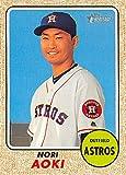 2017 Topps Heritage #300 Nori Aoki Houston Astros Baseball Card