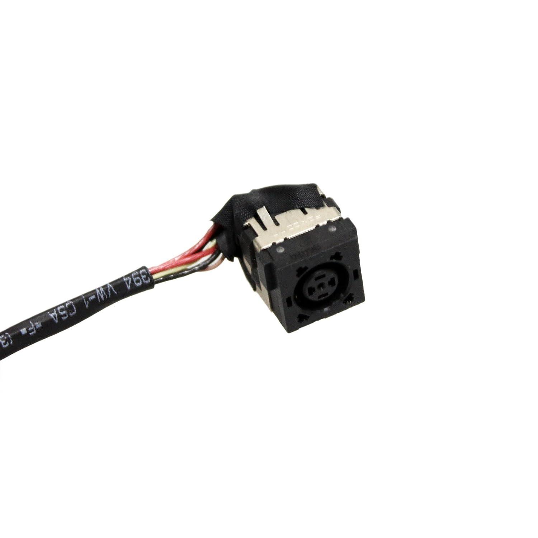 DC Power Jack w//Cable DELL INSPIRON 5749 5748 3442 Laptop J5HM8 Charging Plug