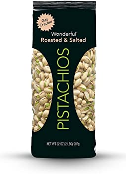 Wonderful Pistachios Roasted & Salted Pistachios 32-Oz. Bag