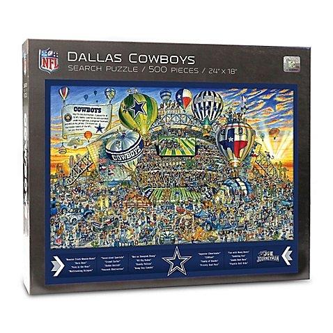 Joe Journeyman NFL Dallas Cowboys Jigsaw Puzzle, 500-Piece