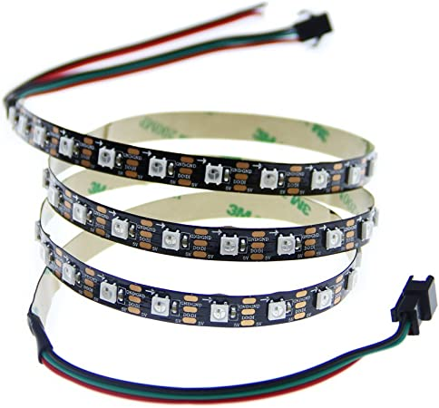 Easy Arduino control 25 WS2812B 4pin 5050 SMD Addressable RGB LED Chip Neopixel