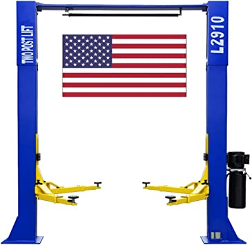 CHIEN RONG CR L2910 110V Two Post Lift 9,000 lbs Capacity Car Auto Truck Hoist 12 Month Warranty