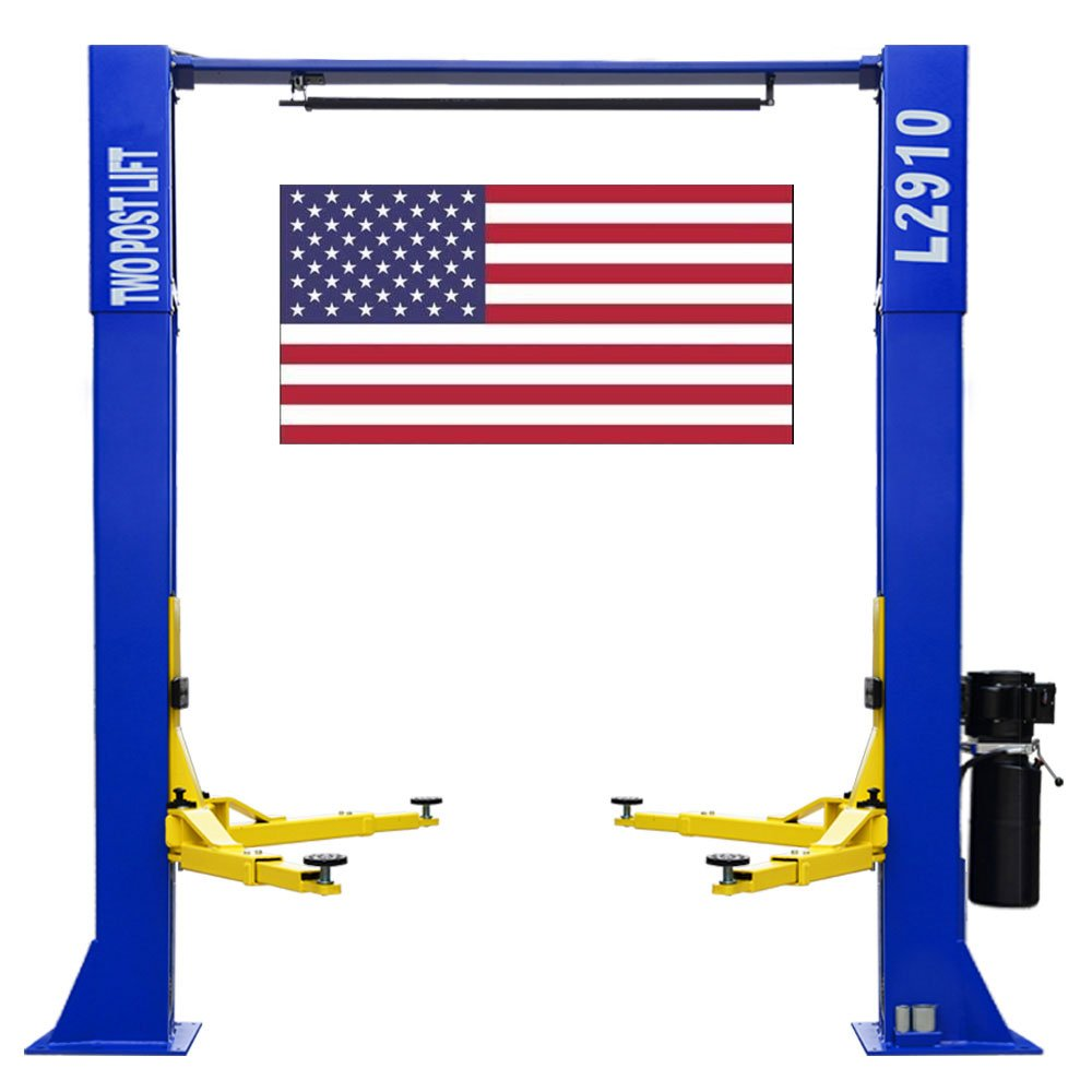 CR L2910 110V Two Post Lift 9, 000 lbs Capacity Car Auto Truck Hoist Great Quality/12 Month Warranty QIYU MACHINERY CO.