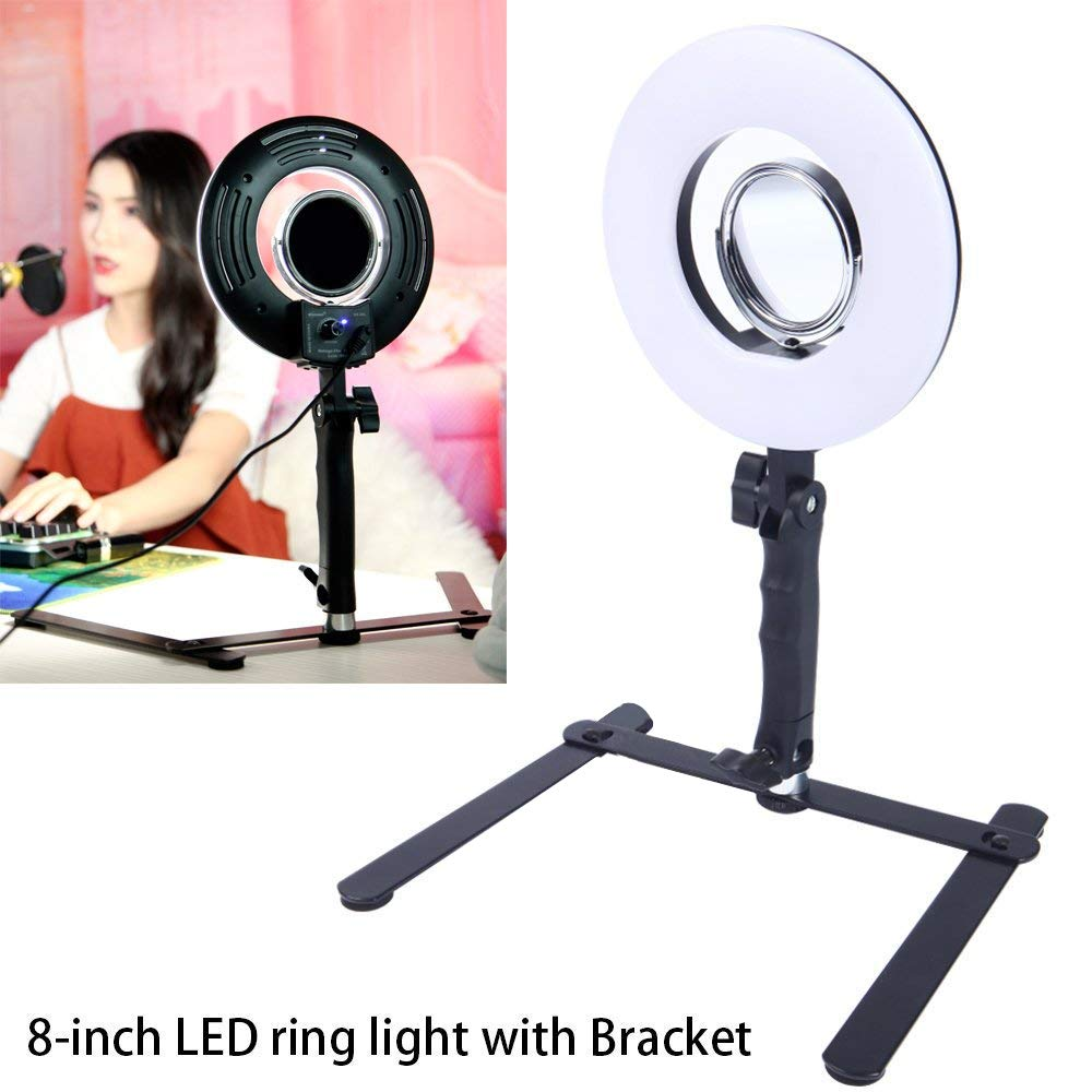 10inch Pink LED Ring Light 10 Tabletop Light lamp Dimmable Lighting for Photography
