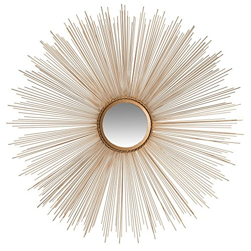 Safavieh Home Collection Gold Sun Burst Mirror