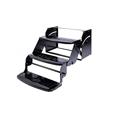 "Stromberg Carlson SMFP-3100 Manual Coach Steps by Flexco - 24"" Triple, 8"" Rise: Automotive"
