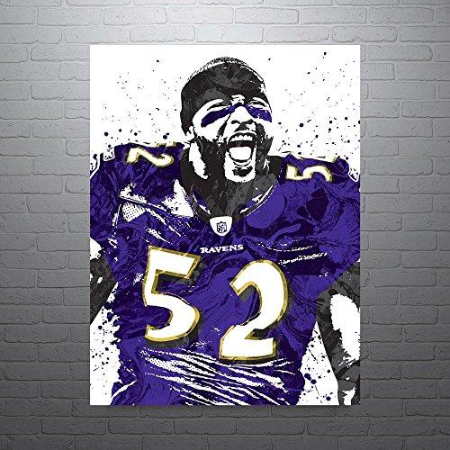 Paper Baltimore Ravens (Ray Lewis Baltimore Ravens Poster)