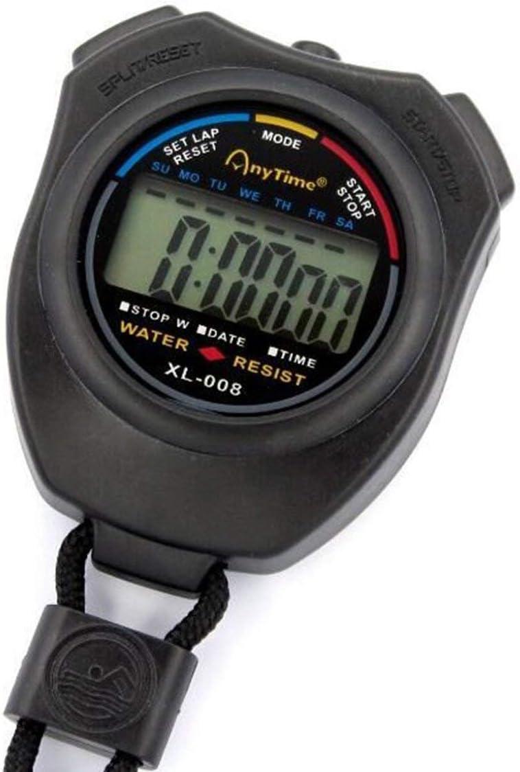 dfghszedtgs ZhengSuDa ZSD-008 Sport Stoppuhr Professionelle Handheld Digital LCD Display Sportz/ähler Timer Mit Armband