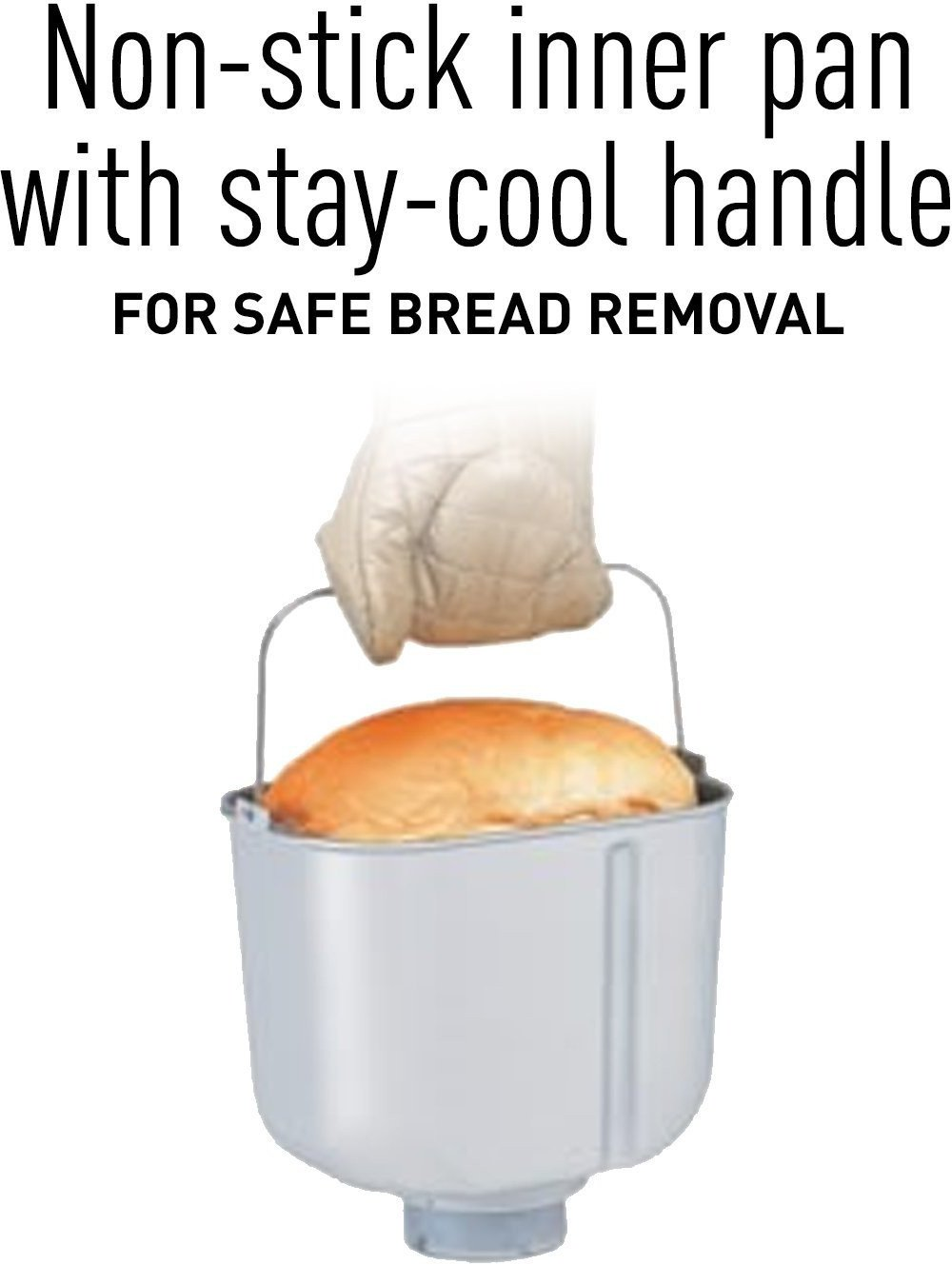 Panasonic SD-YR2500 Bread Maker with Gluten Free Mode and Yeast / Raisin / Nut Dispenser, Black by Panasonic (Image #7)