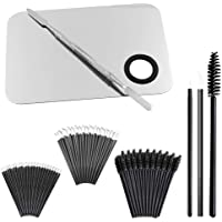 """Professional Makeup Palette with Spatula and 150 Pieces Makeup Brush Kit, SourceTon Cosmetic Palette (5.8""""x 3.9…"""