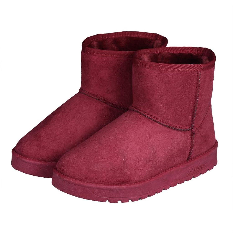 Binmer(TM) Warm Fashion Women Ankle Boots Fur Lined Winter Autumn Warm Snow Boots Shoes