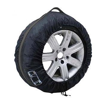 Holdream Funda impermeable para ruedas de coche, bolsa de almacenamiento para neumáticos de coche, funda protectora para neumáticos, color negro, ...