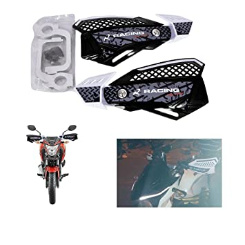 R J Von Bike Hand Guard Protectorfits White Color For Yamaha