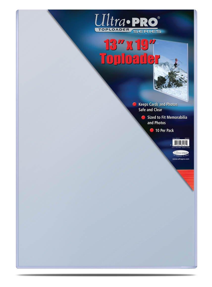 Ultra Pro 13'' X 19'' Toploader 10ct