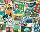 USPS Indonesia Stamp Collection - 400 Different Stamps
