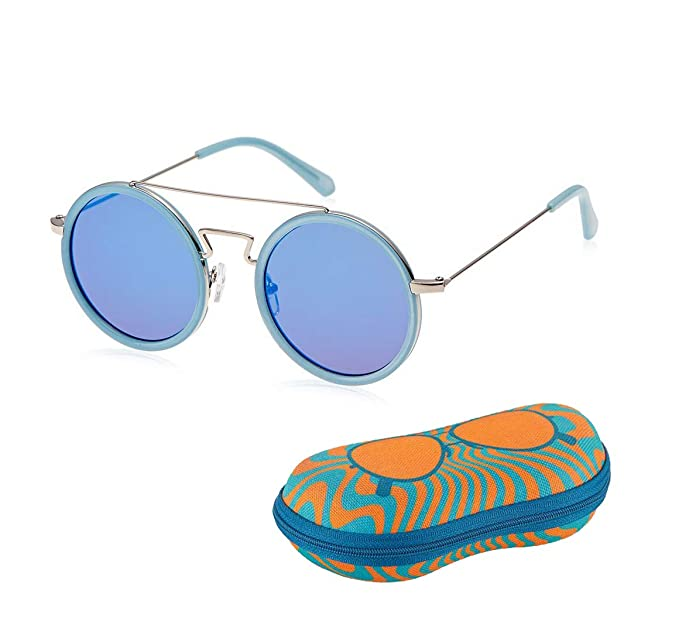 b2e218fbc2 TFL Round Sunglasses Stylish Women Eyewear  Amazon.in  Clothing    Accessories