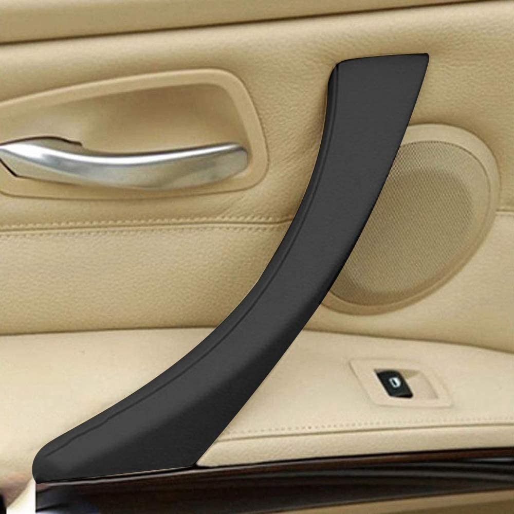 Lopbinte Left Door Handle Cover Black for 3 Series E90//E91 Left Door Handle Interior Door Trim Cover Suitable For: 325 328 330 335 2006-2011