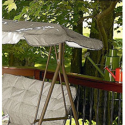Essential Garden 2 Person Swing Replacement Canopy Top Cover Outdoor Canopies Patio And